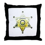 Douglas Sheriff Throw Pillow