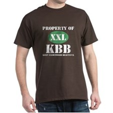 "Dark ""Property of KBB"" T-Shirt"