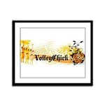 VolleyChick Angie Framed Panel Print