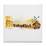 VolleyChick Angie Tile Coaster
