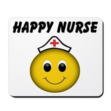 Happy Nurse Mousepad