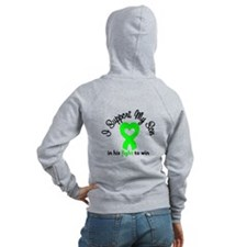 Lymphoma Son Support Zip Hoodie