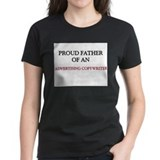 Proud Father Of An ADVERTISING COPYWRITER Tee