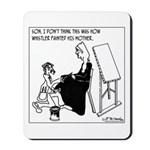 Painting Whistler's Mother W/ Latex Mousepad