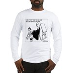 Painting Whistler's Mother W/ Latex Long Sleeve T-