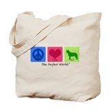 Peace Love ACD Tote Bag