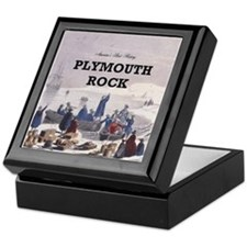 ABH Plymouth Rock Keepsake Box