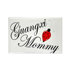 Guangxi Mommy 3 Rectangle Magnet