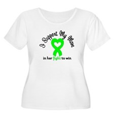 Lymphoma Mom Support T-Shirt