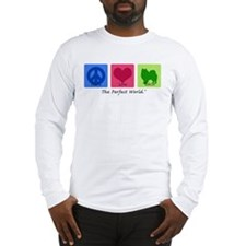 Peace Love Eskie Long Sleeve T-Shirt