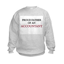 Proud Father Of An ACCOUNTANT Sweatshirt
