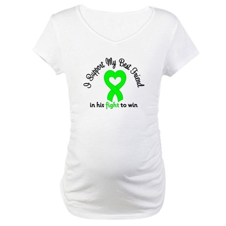 Lymphoma BF (Male) Maternity T-Shirt