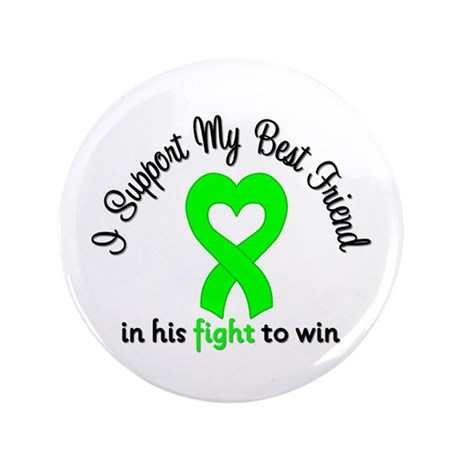 "Lymphoma BF (Male) 3.5"" Button (100 pack)"