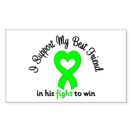 Lymphoma BF (Male) Rectangle Sticker 50 pk)