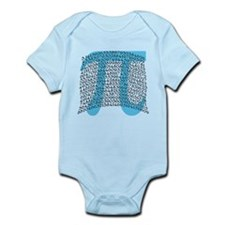 Celebrate PI DAY March 14 Infant Bodysuit