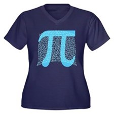 Celebrate PI DAY March 14 Women's Plus Size V-Neck