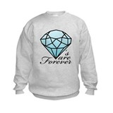 Diamonds are Forever B (Dark) Sweatshirt