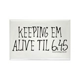 Nurses keep em alive Rectangle Magnet (10 pack)