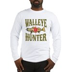 Walleye Hunter Long Sleeve T-Shirt