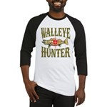 Walleye Hunter Baseball Jersey