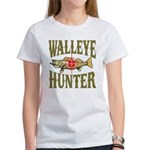 Walleye Hunter Women's T-Shirt