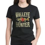 Walleye Hunter Women's Dark T-Shirt