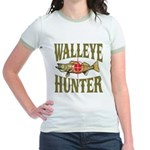 Walleye Hunter Jr. Ringer T-Shirt