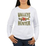 Walleye Hunter Women's Long Sleeve T-Shirt