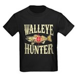 Walleye Hunter Kids Dark T-Shirt