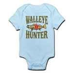 Walleye Hunter Infant Bodysuit
