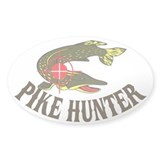 Pike Hunter Oval Decal