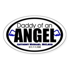 Custom for Danielle Oval Decal