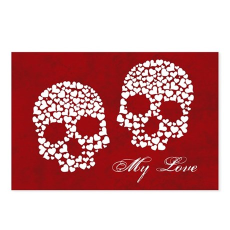 Love to the Bone Postcards (Package of 8)