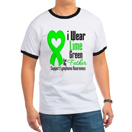 Lymphoma Heart Father Ringer T