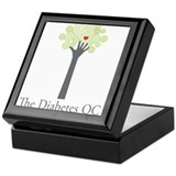Diabetes OC Keepsake Box