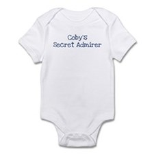 Cobys secret admirer Infant Bodysuit