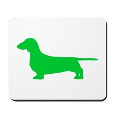 Dachshund St. Patty's Day Mousepad
