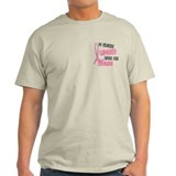 I Wear Pink For My Wife 37 T-Shirt