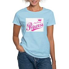 New Jersey Princess Women's Pink T-Shirt