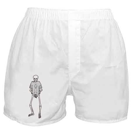 T-Shirt Skeleton Boxer Shorts