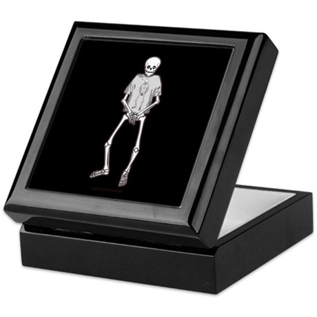 T-Shirt Skeleton Keepsake Box