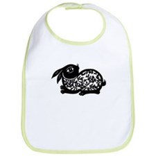 Cute Chinese zodiac rabbit Bib