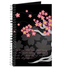 Cherry Tree Blossoms Journal