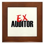 Ex Auditor Framed Tile