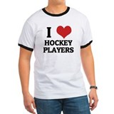 I Love Hockey Players T
