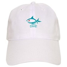Dive! Tribal Fish Baseball Cap