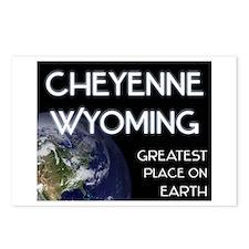 cheyenne wyoming - greatest place on earth Postcar
