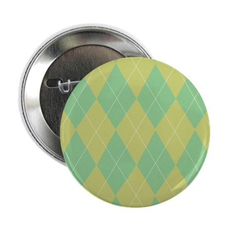 Green & Yellow Argyle 2.25