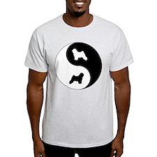 Yin Yang Tibetan T-Shirt
