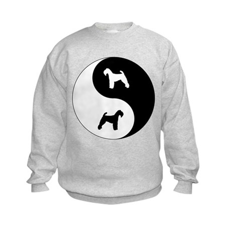Yin Yang Welshie Kids Sweatshirt